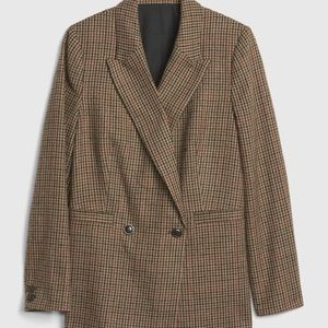 Women's GAP Houndstooth Blazer